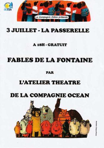 Représentation à Meschers des fables de Jean de la Fontaine