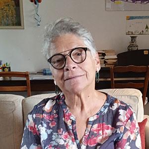 Françoise Fumeron comédienne dans la troupe de la compagnie Océan